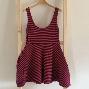 3/$18 Red & Blue Dress